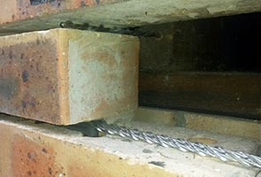 Brick Remedial Helibeam System